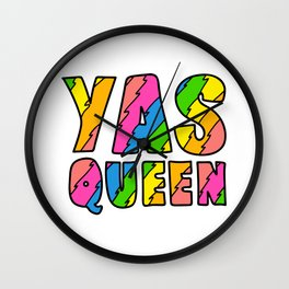 Yas Queen Wall Clock