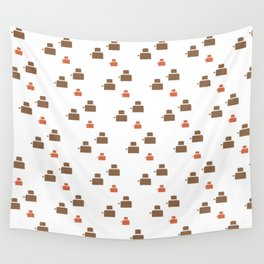 TOASTER PATTERN Wall Tapestry