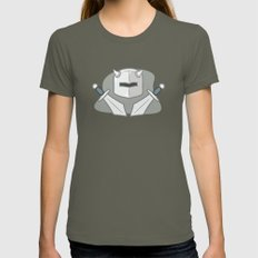 Exile From Ullathorpe - Helmet and Swords Lieutenant SMALL Womens Fitted Tee