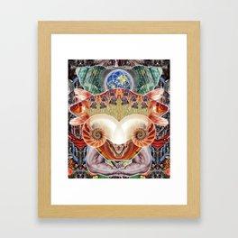 Totem of Redemption Framed Art Print