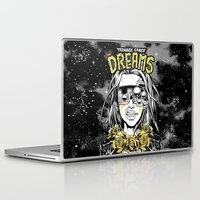 cyberpunk Laptop & iPad Skins featuring TEENAGE SPACE DREAMS by Lokhaan