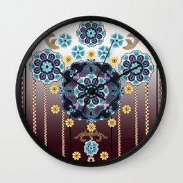 Folk Festival Wall Clock