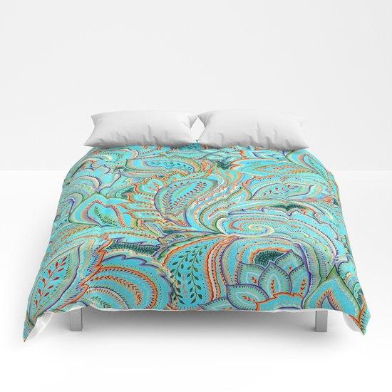 paisley, paisley Comforters