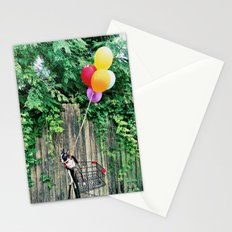Balloon Ride Stationery Cards