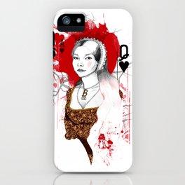 Anne Boleyn iPhone Case