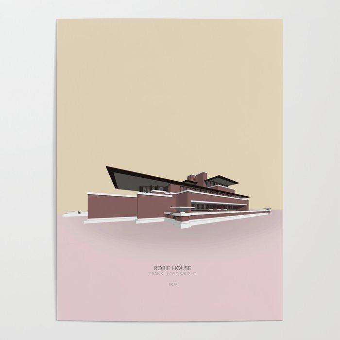 Robie House Frank Lloyd Wright Poster
