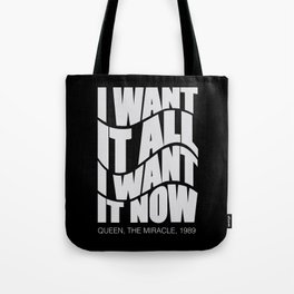 Best English rock band song. For good music lovers Tote Bag