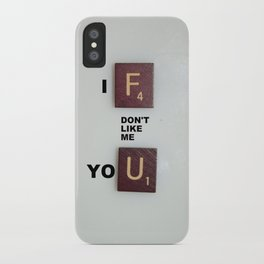 No, Seriously iPhone Case