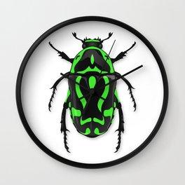 Fiddler Beetle Wall Clock
