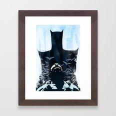 Rises Framed Art Print