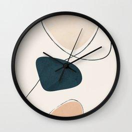 Wildline I Wall Clock
