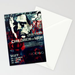 Children Of Men Stationery Cards