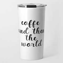Coffee Bar Decor, Coffee Sign, Kitchen Decor, Kitchen Wall Art Travel Mug