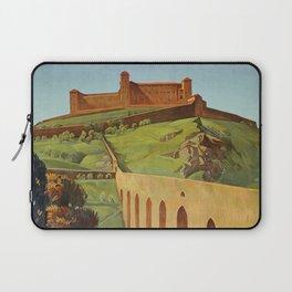 Spoleto Umbria 1927 Laptop Sleeve