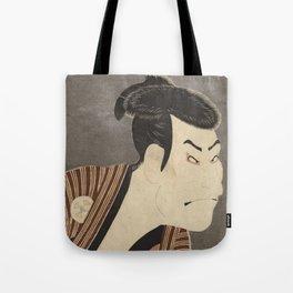 Famous Japanes Art: Tōshūsai Sharaku - Print of Ōtani Oniji III in the Role of the Servant Edobei Tote Bag