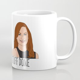 Tinamy Tina Fey and Amy Poehler Bitches Get Stuff Done Coffee Mug