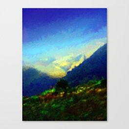 Big Sur Hills Canvas Print