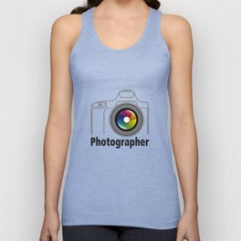 Photographer Community Unisex Tank Top