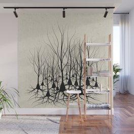 Pyramidal Neuron Forest Wall Mural