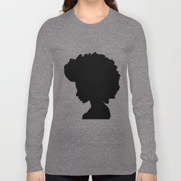 Afro Girl Long Sleeve T-shirt