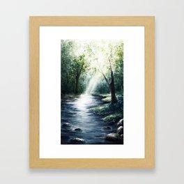 Shinrin-yoku Pt.III Framed Art Print