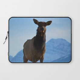 Elk in the Canadian Rocky Mountains Laptop Sleeve