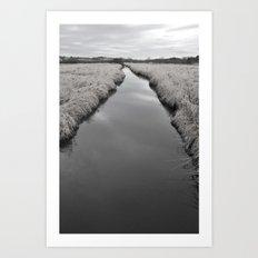 Long River Way  Art Print