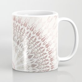 Cream Rose Mandala Coffee Mug