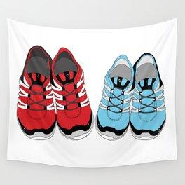 Sporty Shoe Love Wall Tapestry