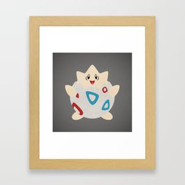 Paper Togepi Framed Art Print