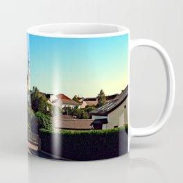 Village road in summertime Coffee Mug