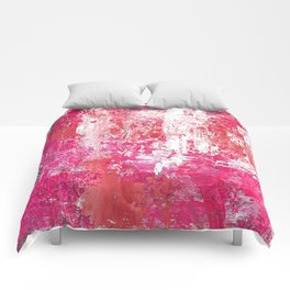 Roses Play Color On Ice Comforters