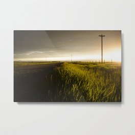 Alberta Sunset Metal Print