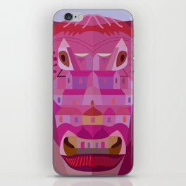 A Cow in Los Angeles iPhone Skin