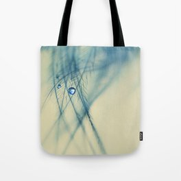 feather blue Tote Bag
