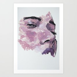 Pink state Art Print