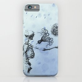 We were not yet ready iPhone Case