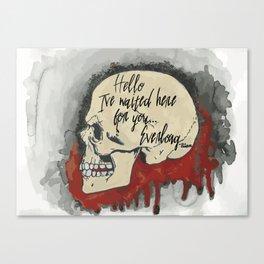 Everlong Canvas Print