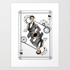 King of Carbon Art Print