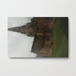 Countryside Rain Metal Print