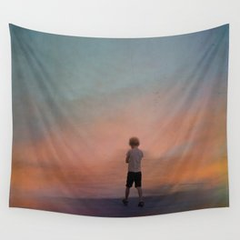 A world of illusions Wall Tapestry