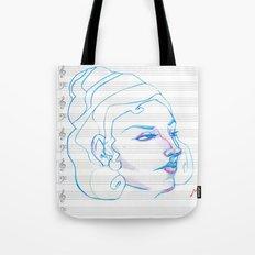 Music to My Eyes Tote Bag