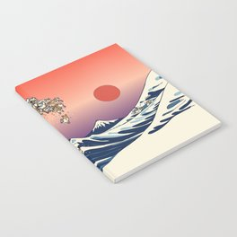 The Great Wave of Shiba Inu Notebook