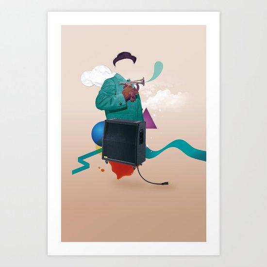 ILOVEMUSIC #2 Art Print