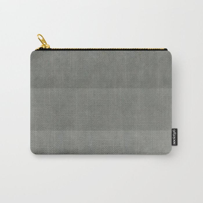 """Spring light grey horizontal lines"" Carry-All Pouch"