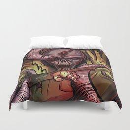Worm Zombie Duvet Cover
