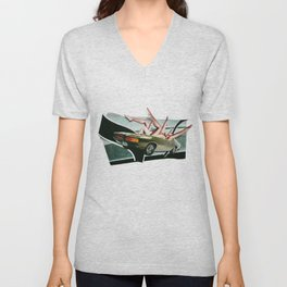 Muscle Magnet | Collage Unisex V-Neck