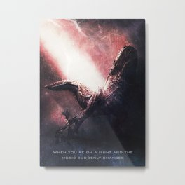 DevilJho of Monster Hunter Metal Print