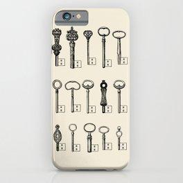 Usb Keys iPhone Case