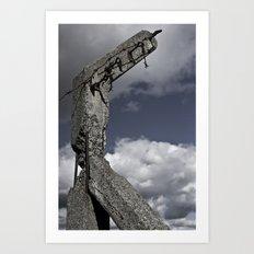 Modern Ruin Art Print